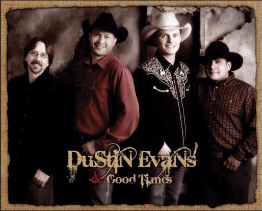 Country Stampede Dustin Evans & Good Times Band Dance Concert